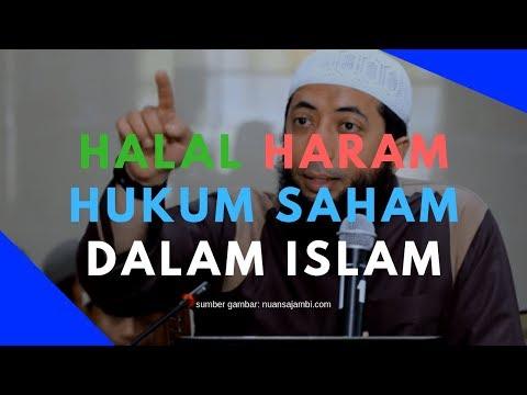 Halal Haram Hukum Saham Dalam Islam Menurut 3 Ustadz
