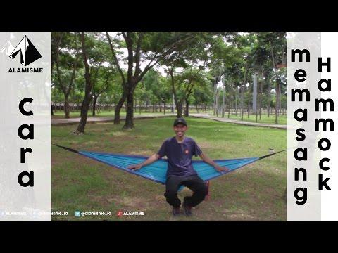 Cara cepat memasang hammock