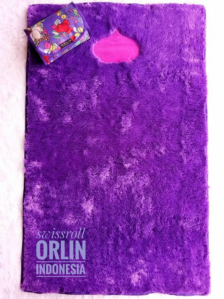 jual sajadah orlin ungu