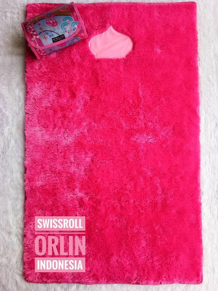 jual sajadah pink merah jambu