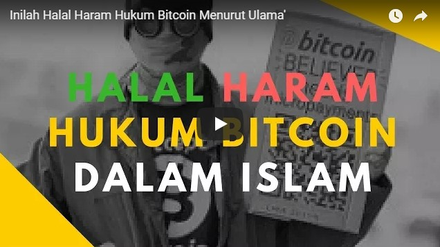 video ceramah hukum bitcoin halal haram