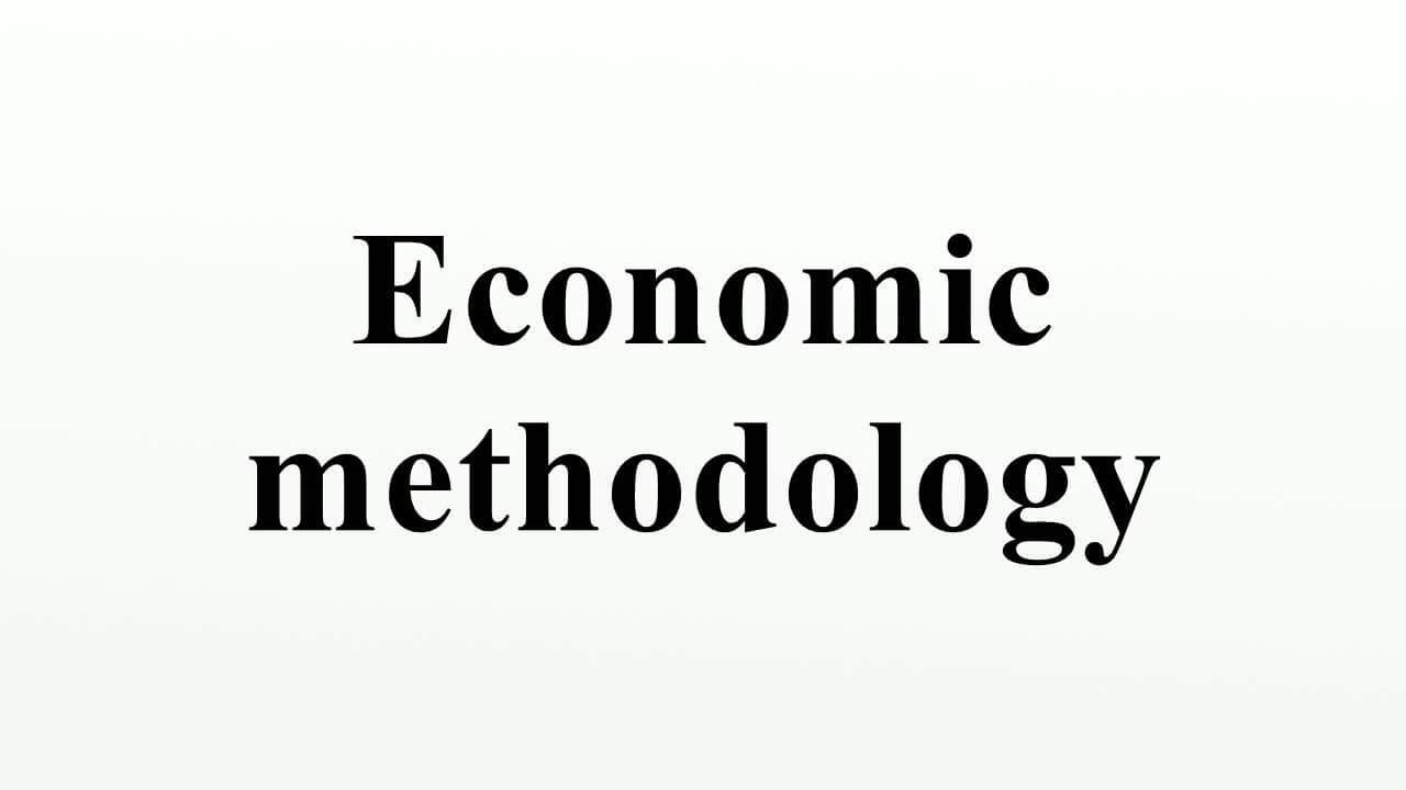 Metodelogi Ilmu Ekonomi