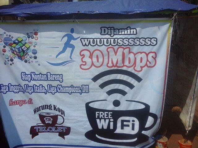 Pasang Wifi Biar Tambah Ramai