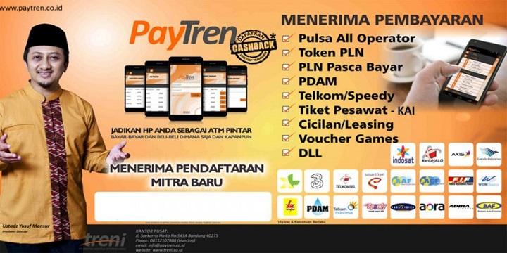 Paytren adalah Salah Satu Aplikasi Bisnis Payment