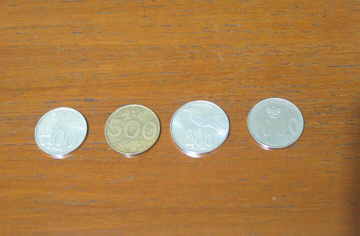 penukaran uang logam di bank