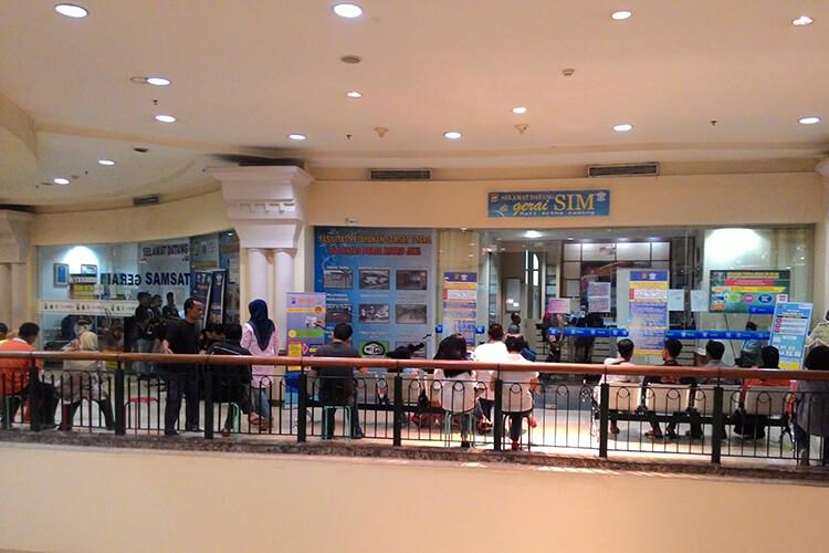 perpanjang STNK di mall