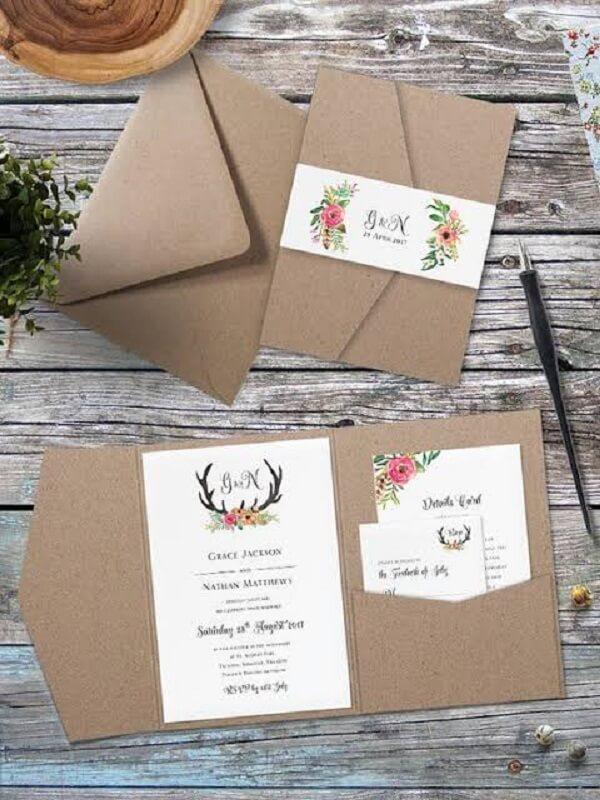 Gunakan undangan yang sederhana saja toh fungsinya sama saja untuk menginformasikan pernikahan kamu