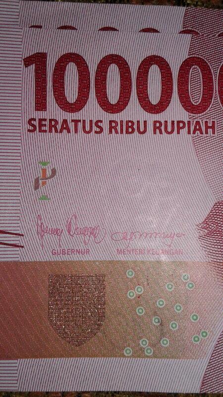 penulisan rupiah yang benar